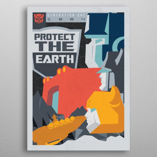 Protect metal poster
