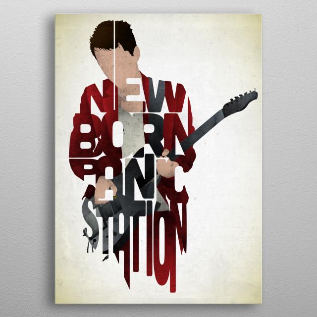 Matthew Bellamy - Muse. metal poster