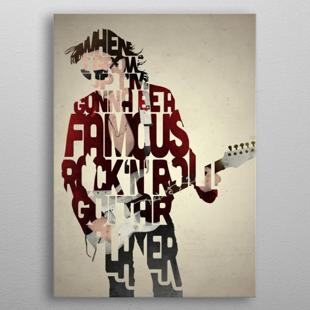 Steve Vai. metal poster