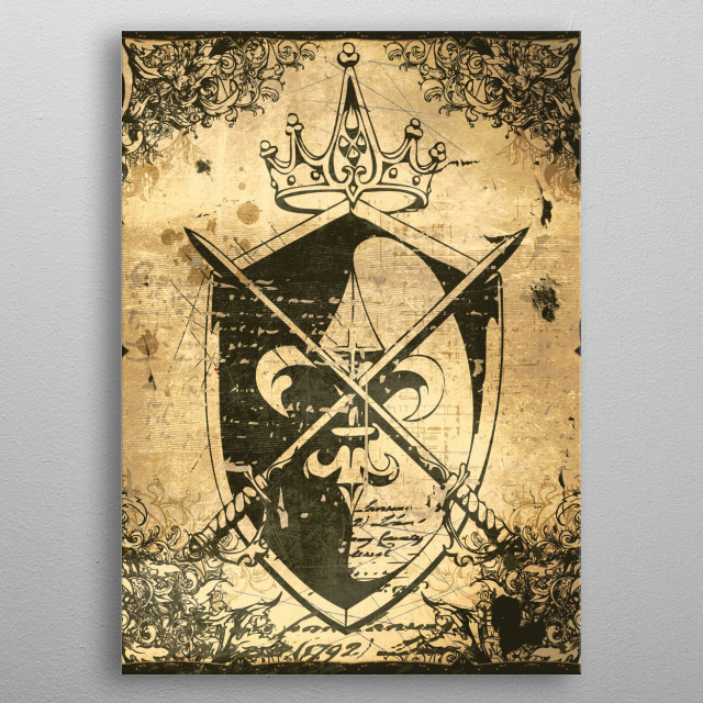 This marvelous metal poster designed by denismarsili to add authenticity to your place. Display your passion to the whole world. metal poster