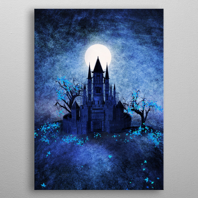 This marvelous metal poster designed by vivianagonzalez74 to add authenticity to your place. Display your passion to the whole world. metal poster
