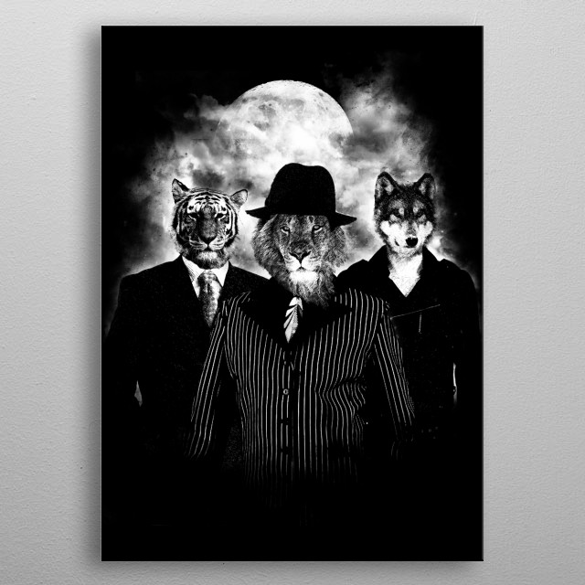 Killers Elite metal poster