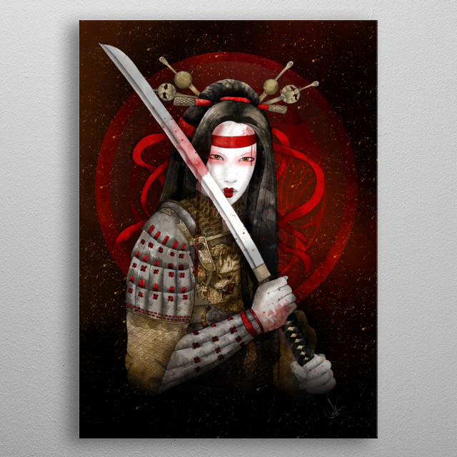 Dragon heart metal poster