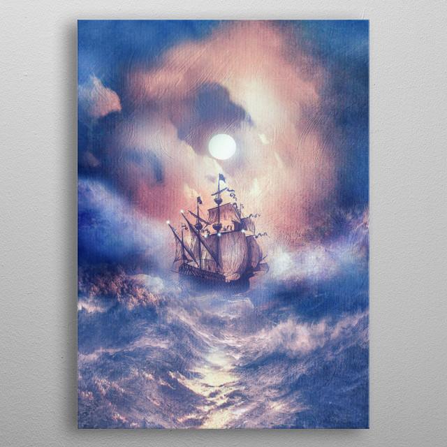 Perfect storm 2 metal poster