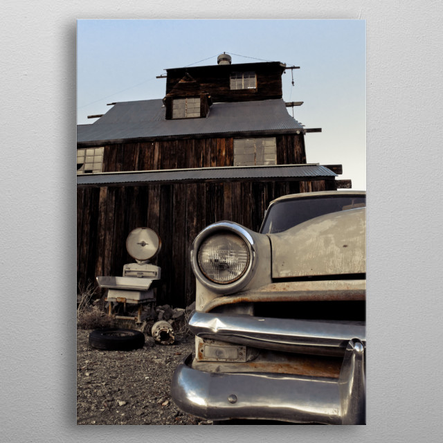 This marvelous metal poster designed by merrickimagery to add authenticity to your place. Display your passion to the whole world. metal poster