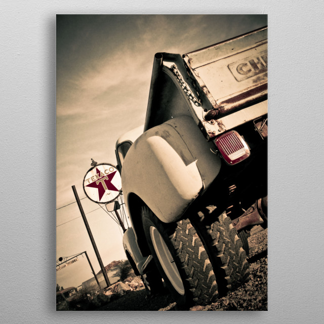 Chevy Truck metal poster