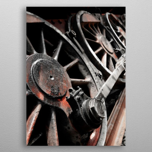 Fascinating metal poster designed by ivo ivanov. Displate has a unique signature and hologram on the back to add authenticity to each design. metal poster