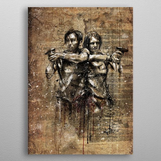 Glenn metal poster