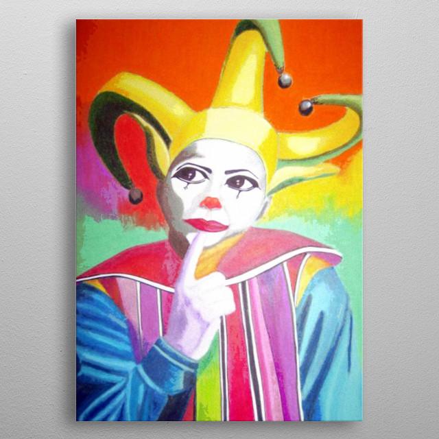 Joker metal poster
