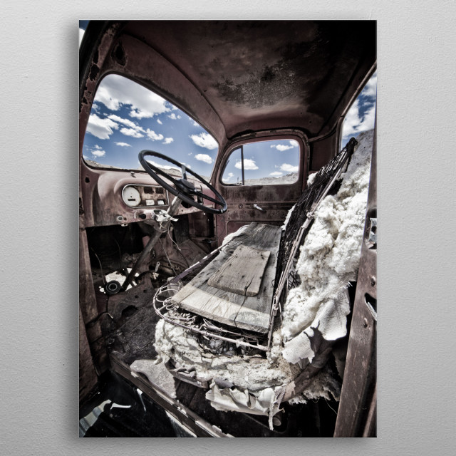 Picture Perfect metal poster