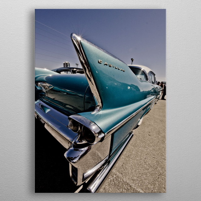 Cadillac Style metal poster