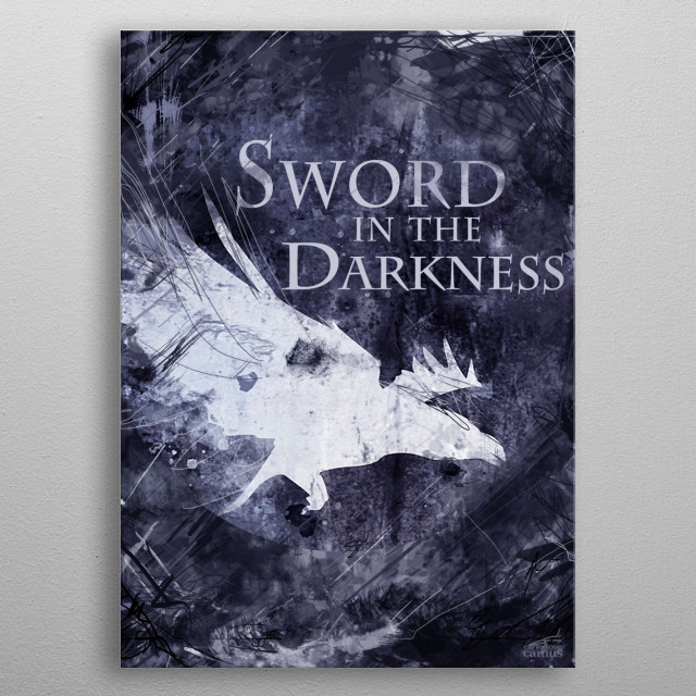 Game of Thrones - Night's Watch [v2] metal poster