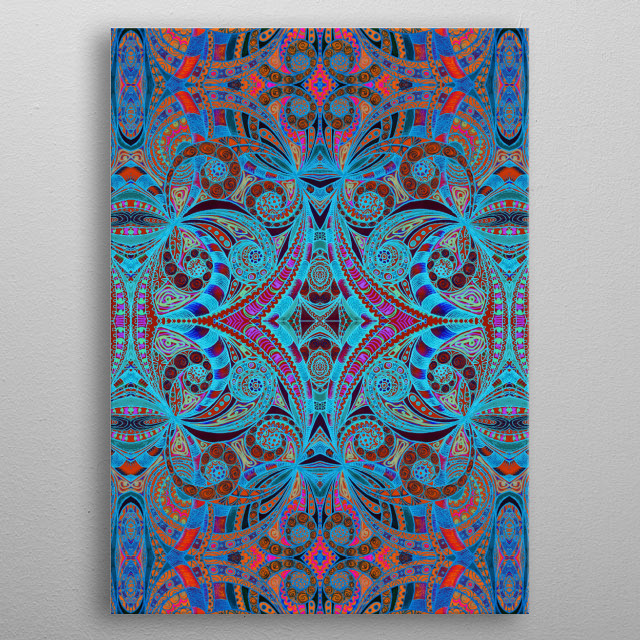 Ethnic Style 18 metal poster