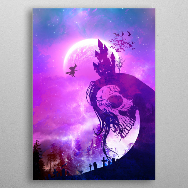 Witch Castle metal poster