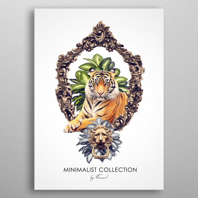 Piece I. Minimalist Collection. metal poster