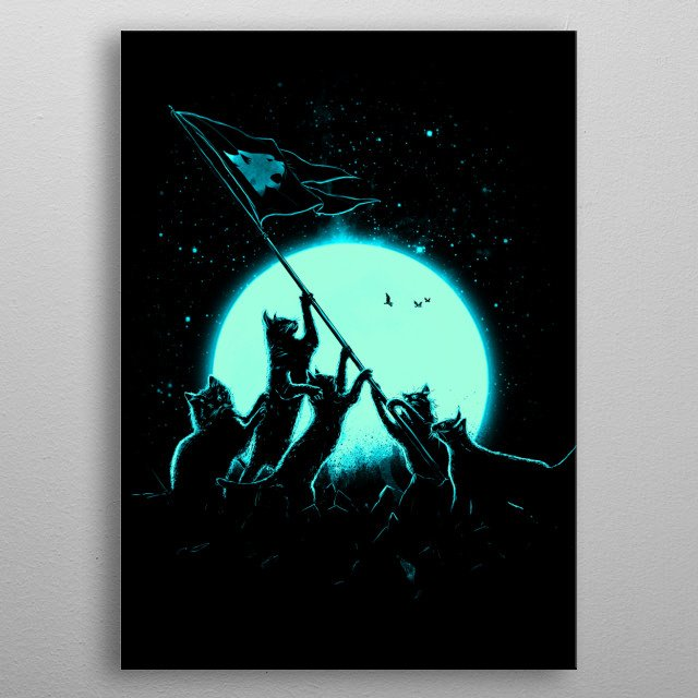 Fascinating metal poster designed by nice bleed. Displate has a unique signature and hologram on the back to add authenticity to each design. metal poster