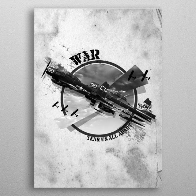 Torn Apart metal poster