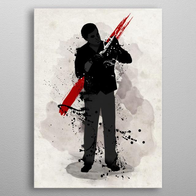 Serial Killer metal poster