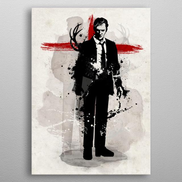 Detective metal poster