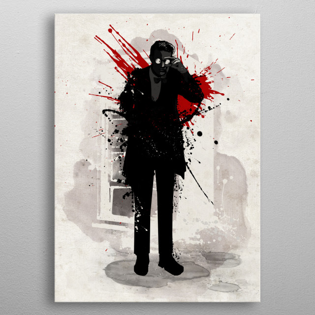 High-quality metal print from amazing Iconic Characters Red Series collection will bring unique style to your space and will show off your personality. metal poster