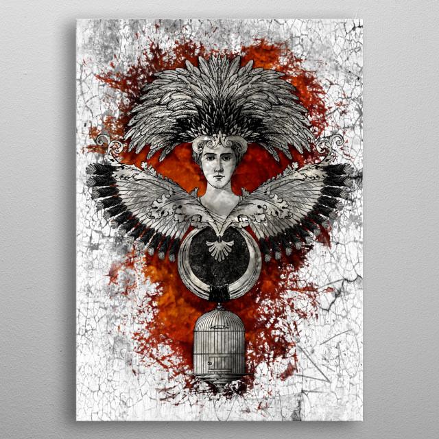 Phoenix metal poster