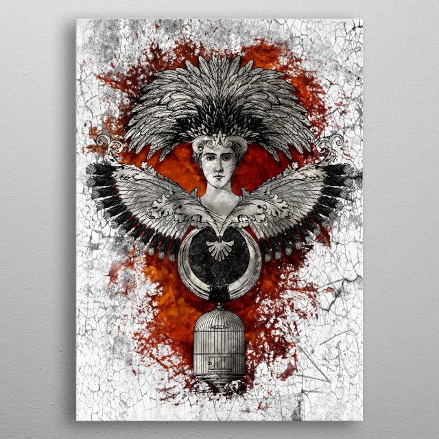 High-quality metal print from amazing Other Works collection will bring unique style to your space and will show off your personality. metal poster