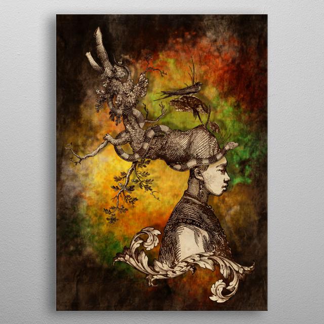 Magna-Mater I metal poster