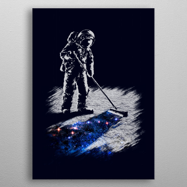 Fascinating metal poster designed by Angrymonk. Displate has a unique signature and hologram on the back to add authenticity to each design. metal poster