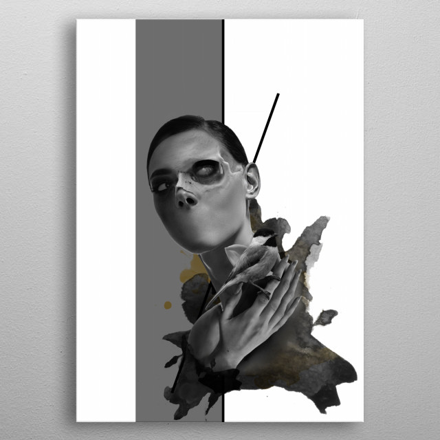 High-quality metal print from amazing Displate Wishlist collection will bring unique style to your space and will show off your personality. metal poster