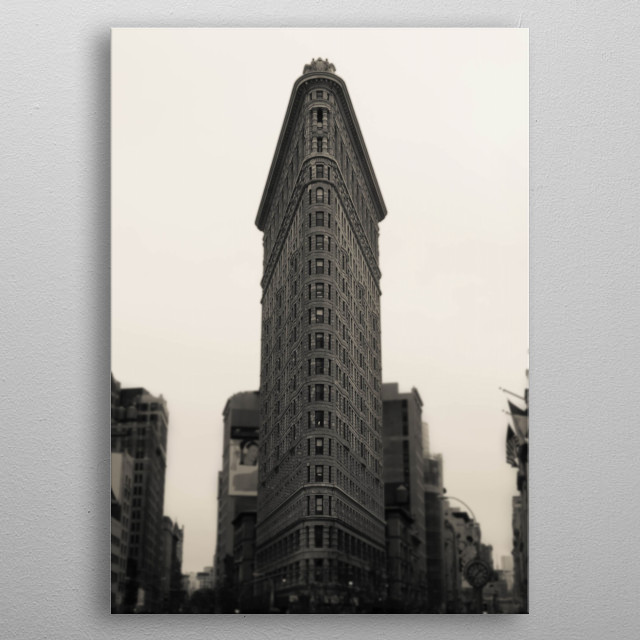 High-quality metal print from amazing New York City collection will bring unique style to your space and will show off your personality. metal poster