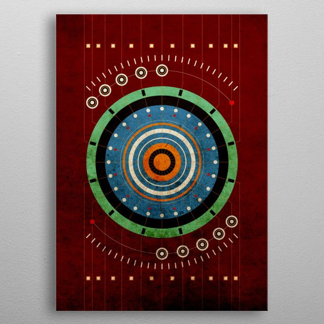 This marvelous metal poster designed by angelas to add authenticity to your place. Display your passion to the whole world. metal poster
