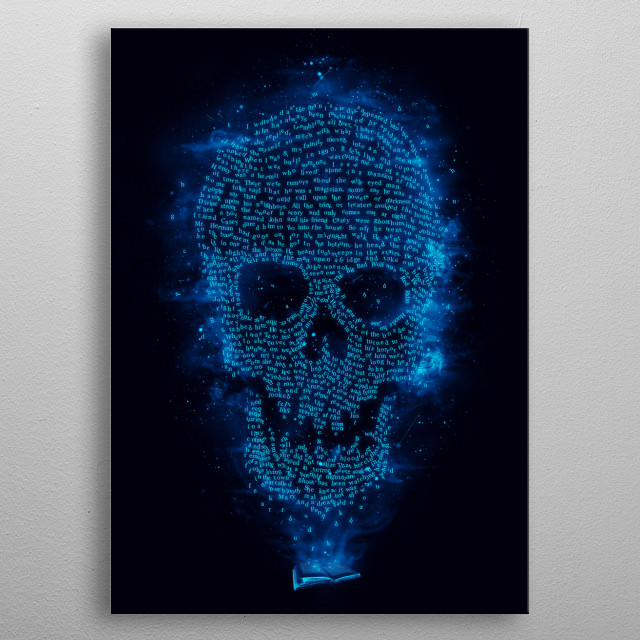Fascinating metal poster designed by Ismael Sandiego. Displate has a unique signature and hologram on the back to add authenticity to each design. metal poster