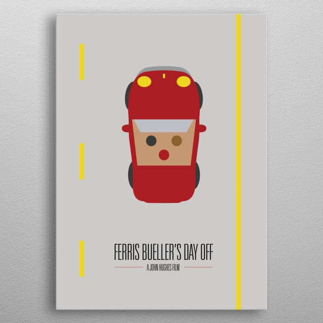 Ferris Buellers Day Off Movie Poster metal poster