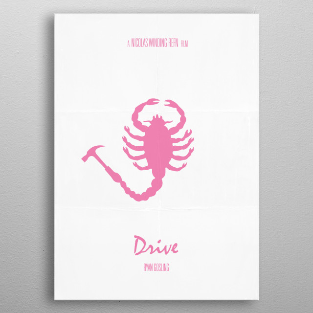 Drive Movie Poster metal poster