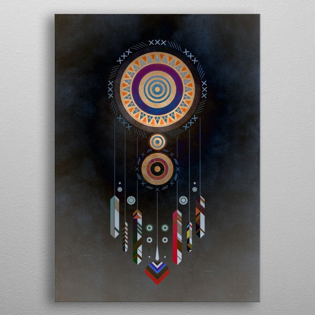Dreamcatcher No.01 metal poster