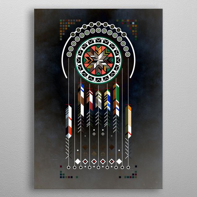 Dreamcatcher No.02 metal poster