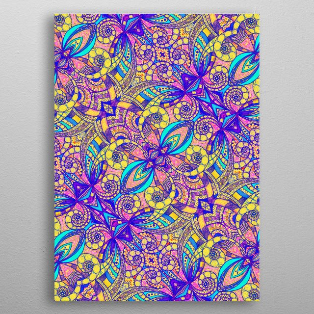 Ethnic Style 29 metal poster