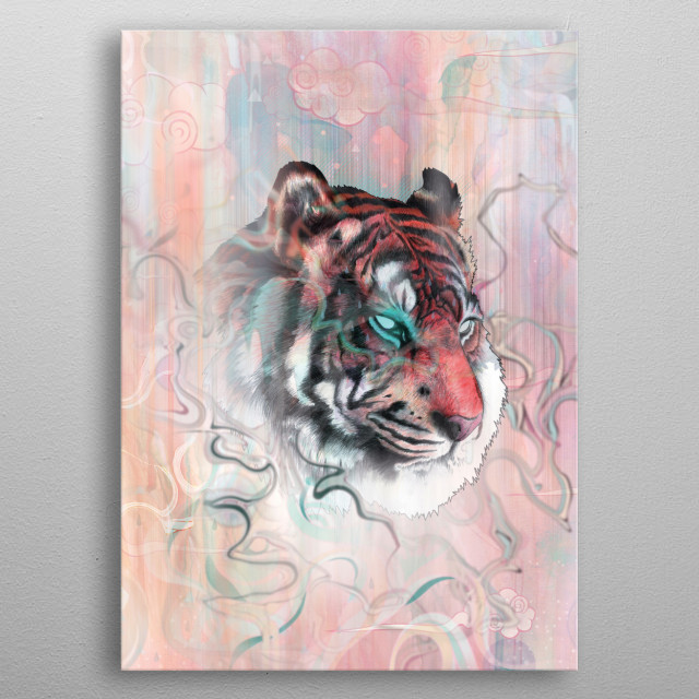 Illusive by Nature metal poster