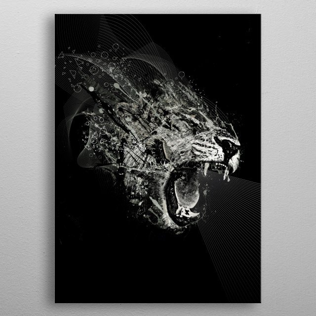 High-quality metal print from amazing Tentimeskarma collection will bring unique style to your space and will show off your personality. metal poster