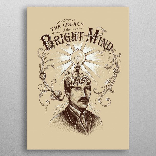 High-quality metal print from amazing Vintage collection will bring unique style to your space and will show off your personality. metal poster