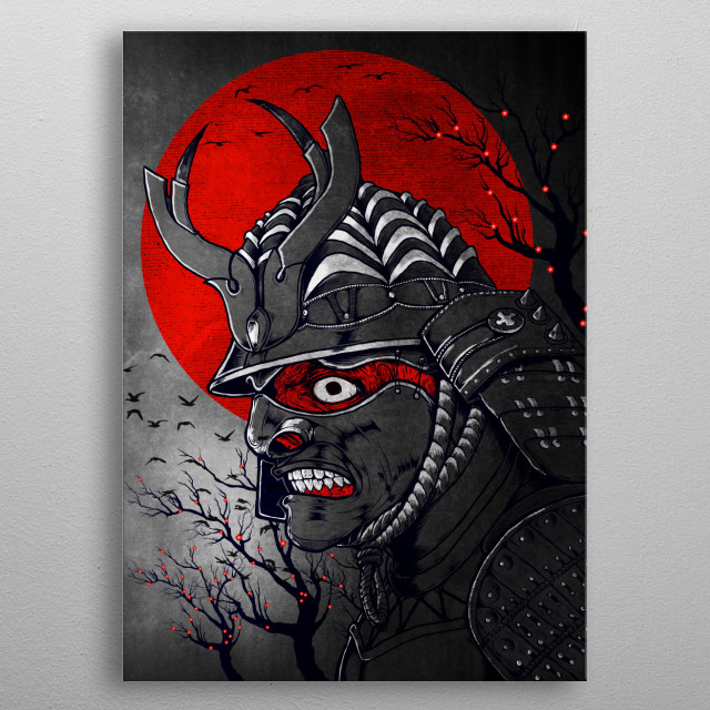 High-quality metal wall art meticulously designed by tentimeskarma would bring extraordinary style to your room. Hang it & enjoy. metal poster