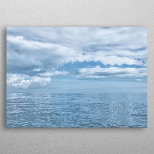 High-quality metal print from amazing Water Scenery collection will bring unique style to your space and will show off your personality. metal poster