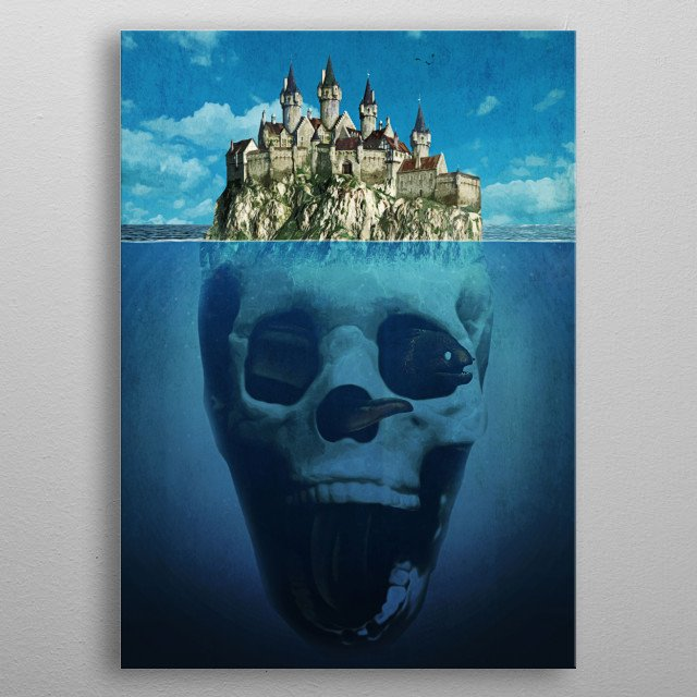 This marvelous metal poster designed by seamless to add authenticity to your place. Display your passion to the whole world. metal poster