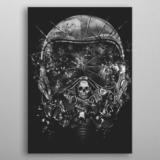 ITs a Good Day to Die metal poster