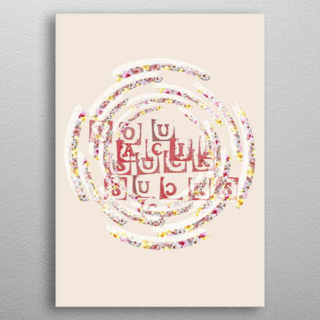 Fascinating  metal poster designed with love by gasponce. Decorate your space with this design & find daily inspiration in it. metal poster
