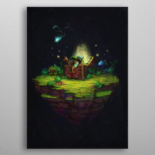 Zelda Fan Art metal poster