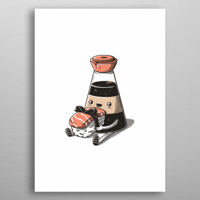 Perfect gift metal poster