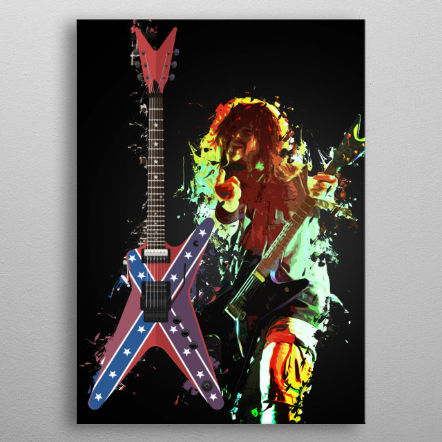 Fascinating metal poster designed by Lee Jones. Displate has a unique signature and hologram on the back to add authenticity to each design. metal poster