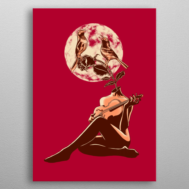Fascinating  metal poster designed with love by barmalisirtb. Decorate your space with this design & find daily inspiration in it. metal poster