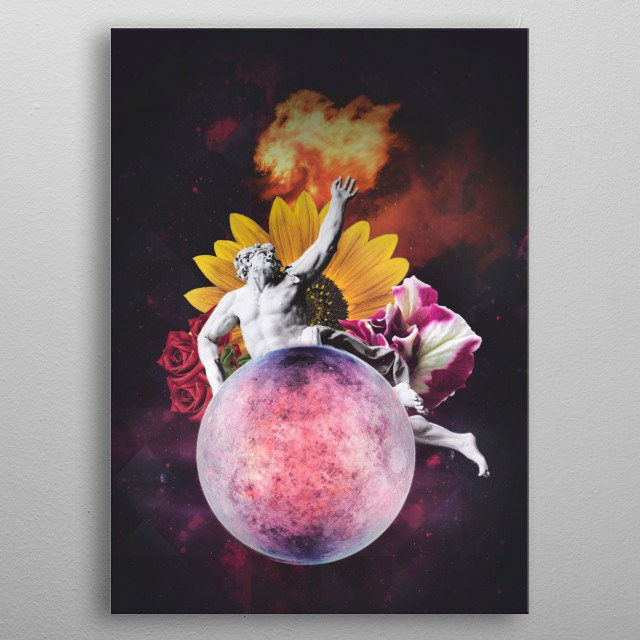 This marvelous metal poster designed by eleaxart to add authenticity to your place. Display your passion to the whole world. metal poster